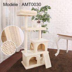 Arbre à chat modèle AMT0030 Beige