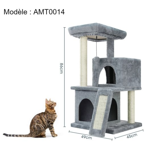 Arbre à chat modèle AMT0014