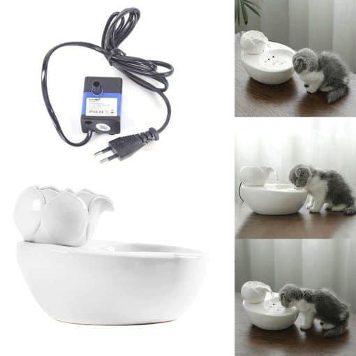 Fontaine à eau céramique pour chats