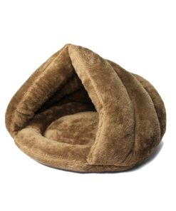 Niche igloo pour chat - Brun