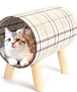 Lit tunnel pour chats