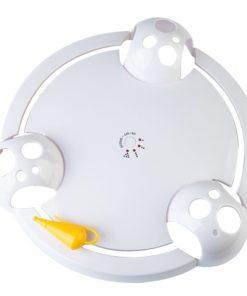 Jouet souris rotative pour chat