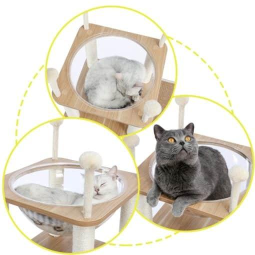 Arbre à chat design multi activités